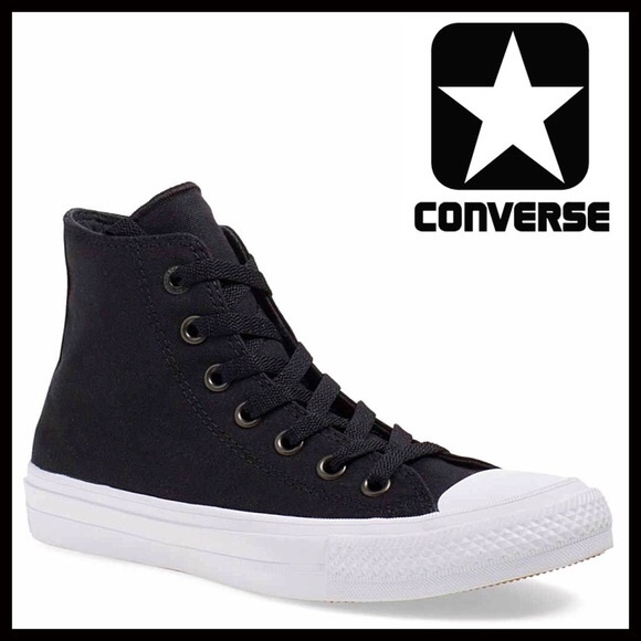 converse lunarlon black